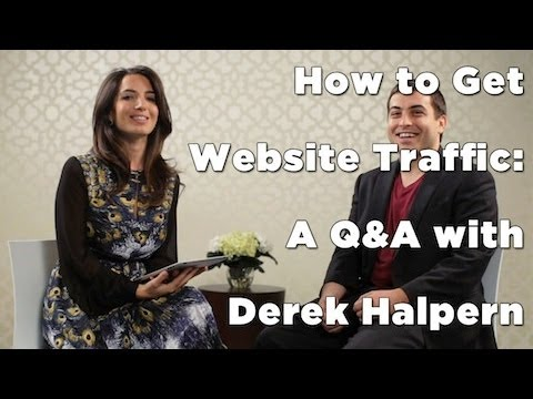 How to Get Website Traffic: A Q&A with Derek Halpern